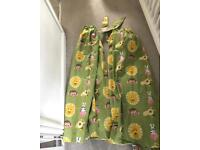 Pair of kids animal curtains