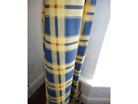 Lovely Check Curtain Fabric 10 metres