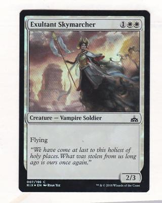 Magic: MTG: Rivals of Ixalan: Foil: Exultant Skymarcher