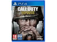 WANTED: CALL OF DUTY WW2 ps4