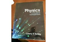 Physics A Student Companion - Lowry A Kirkby - Textbook