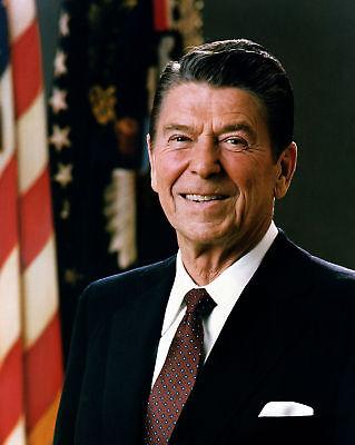(President Ronald Reagan Official Portrait 8 x 10 Photo Photograph Picture)