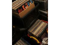 VINYL RECORD DEALER STOCK APPROX 500-700 ALBUMS