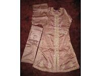 Light Brown Salwar Kameez Suit