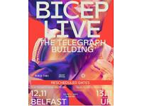 BICEP Live - Telegraph Building - 4 tickets @ face value