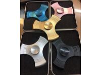 100 Metal Fidget Spinners at wholesale price East London