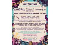 Ynot festival tickets