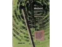 Mullard Circuits For Audio (Valve) Amplifiers (1962)