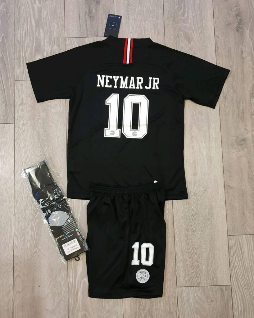 finest selection a0d2b 15cb6 2019 PSG Neymar football kit 6-13 years | in Birkenhead, Merseyside |  Gumtree