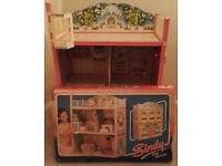 SINDY STAR HOME (1987) with Original Box. (Dolls house, perfect for Barbie too!)
