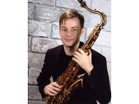 World Class Saxophone Tuition! Learn jazz, blues, improvisation, All levels welcome!