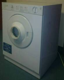 indesit compact tumble dryer fit on worktop or in cupboard excellent working cond £40 or offer