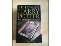 Rare-Harry Potter & The Half-Blood Prince H/B Book (First Edition 2005, with misprint - Rare)