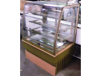 Parry Patisserie display fridge great condition stored in Lanarkshire