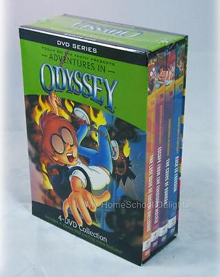 New Adventures In Odyssey 4 Dvd Collection Series   Bonus Audio Boxed Gift Set