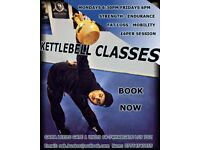 KETTLEBELL CLASSES - strength, endurance, mobility, fat loss, tone muscle - Have fun!!