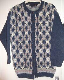 Tulchan Pure New Wool Cardigan