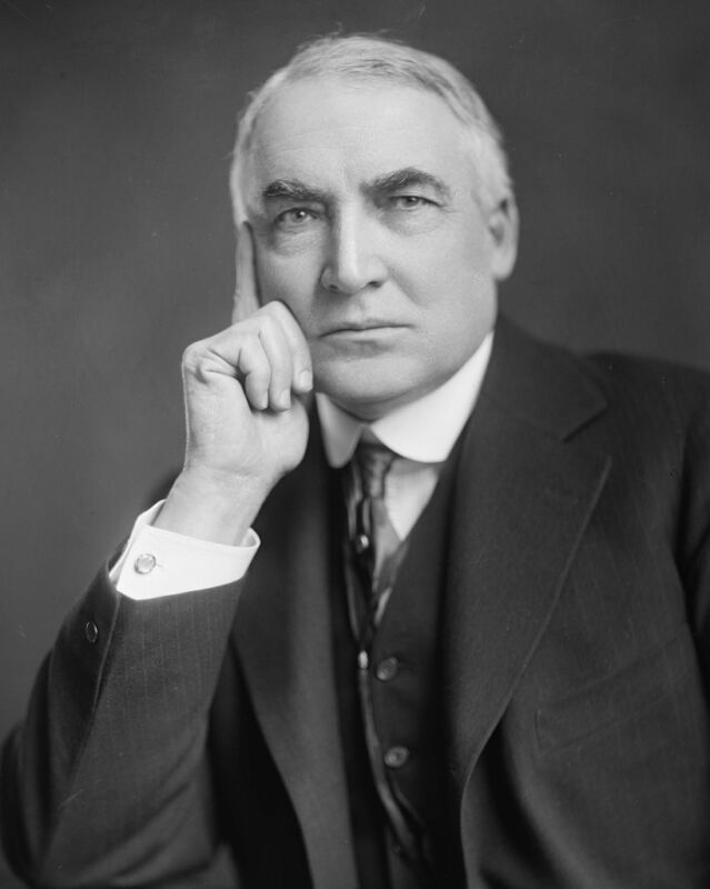 President Warren G. Harding U.S. USA Portrait 8 x 10 Photo Picture Photograph