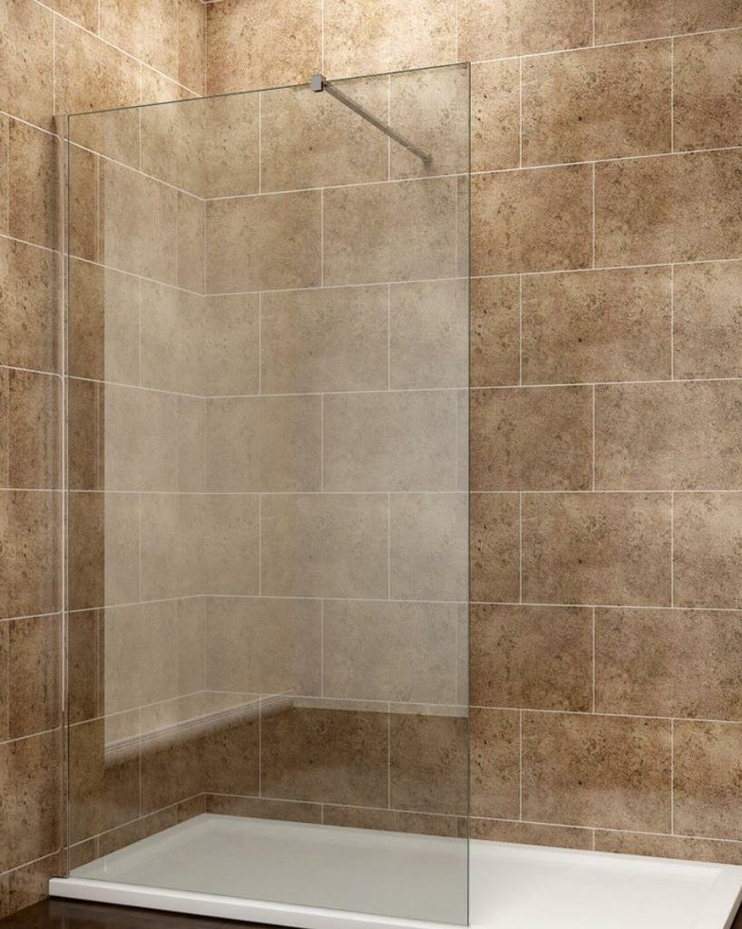 Walk in Glass Shower Screen | in Madeley, Cheshire | Gumtree
