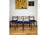 Mid Century G Plan Fresco Victor Wilkins Teak уу Dining Chairs FREE LOCAL DELIVERY