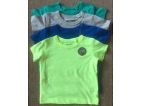 Next Baby Boy Four Pack TShirts 3 - 6 Months - Brand New Without Tag