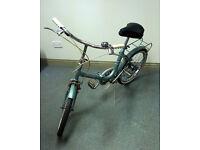 Vintage Hercules Compact Folding Bike