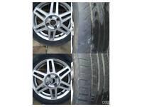 Ford fiesta zetec wheels