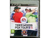 PS3 Tiger Woods PGA Tour '11