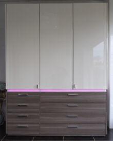 EX-DISPLAY BEDROOM UNIT – WITH RGB LED LIGHTS