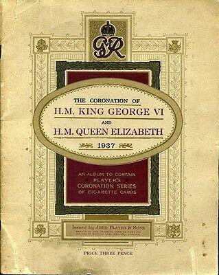 George VI Coronation..Ceremonial Dress  John Player's in offical Album