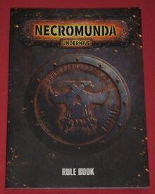 Warhammer 40K 'Necromunda' Softback Rule Book