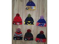Genuine new era winter hats WAS£15 Now £10