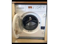 Washing machine Beko multifunctional , perfect to be fit on your kitchen, only used for a year