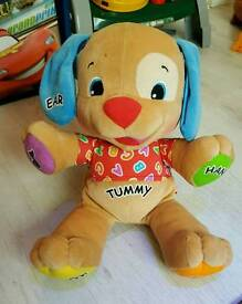 Fisher price laugh and learn smart stages teddy