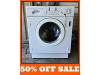 Candy CWB1206 6kg 1200 Spin Integrated Washing Machine