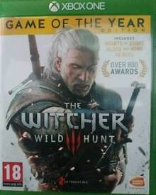 The Witch Hunter 3 wild hunt game of the year edition xbox one