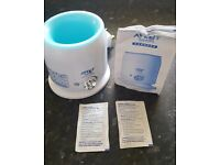 AVENT electric bottle & baby food warmer... brilliant condition!