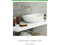 OVAL COUNTER TOP BASIN