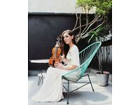 Exceptional violinist for events: jazz, pop, classical, electronic