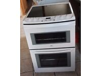 Zanussi 60cm, double oven electric cooker WARRANTY GIVEN