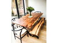 BESPOKE SUSTAINABLE FURNITURE MADE EXCLUSIVELY FROM RECLAIMED LONDON TIMBER