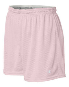 Champion Ladies Athletic Mesh Workout Shorts, Womens short in 3 colors (CA33)