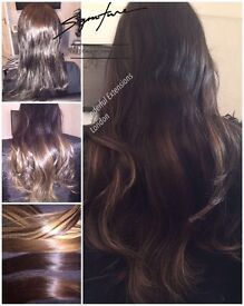 BEAUTIFUL VIRGIN HAIR EXTENSIONS CAMBRIDGESHIRE** £100OFF***FULL STOCK***NO DEPOSITS***PURE LUXURY