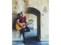 Singer/Guitarist for Parties, Weddings WATCH VIDEOS huge song list!