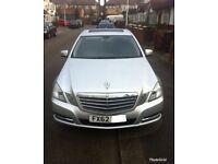 Mercedes E220 cdi BlueEFFICIENCY SE 7G-Tronic Plus Sunroof, 3D SatNav **Must see Bargain**
