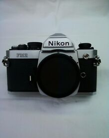NIKON FM2n chrome,classic fully mechanical durable film camera.Excellent E+++ condition .CE marked.