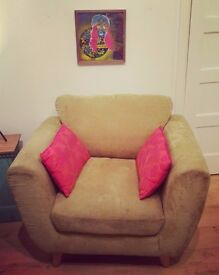 Retro Style Green Armchair REASONABLE OFFERS CONSIDERED