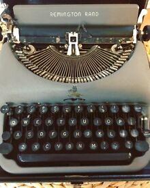 Vintage 1930s Remington Rand Typewriter