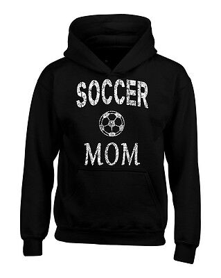 Soccer Mom Hoodie Mother's Day Gift Sports Mom Game Day Soccer Mama Sweatshirts - Soccer Mom