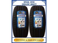 215/65R15 100H GENCO T7 2 TYRES INCLUDING FITTING BALANCING ONLY £80 NEW TYRES 2156515